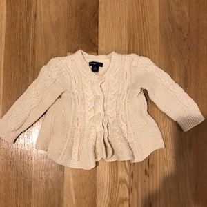 BabyGap cream sweater